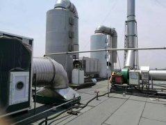 不同情况下的工业废气净化